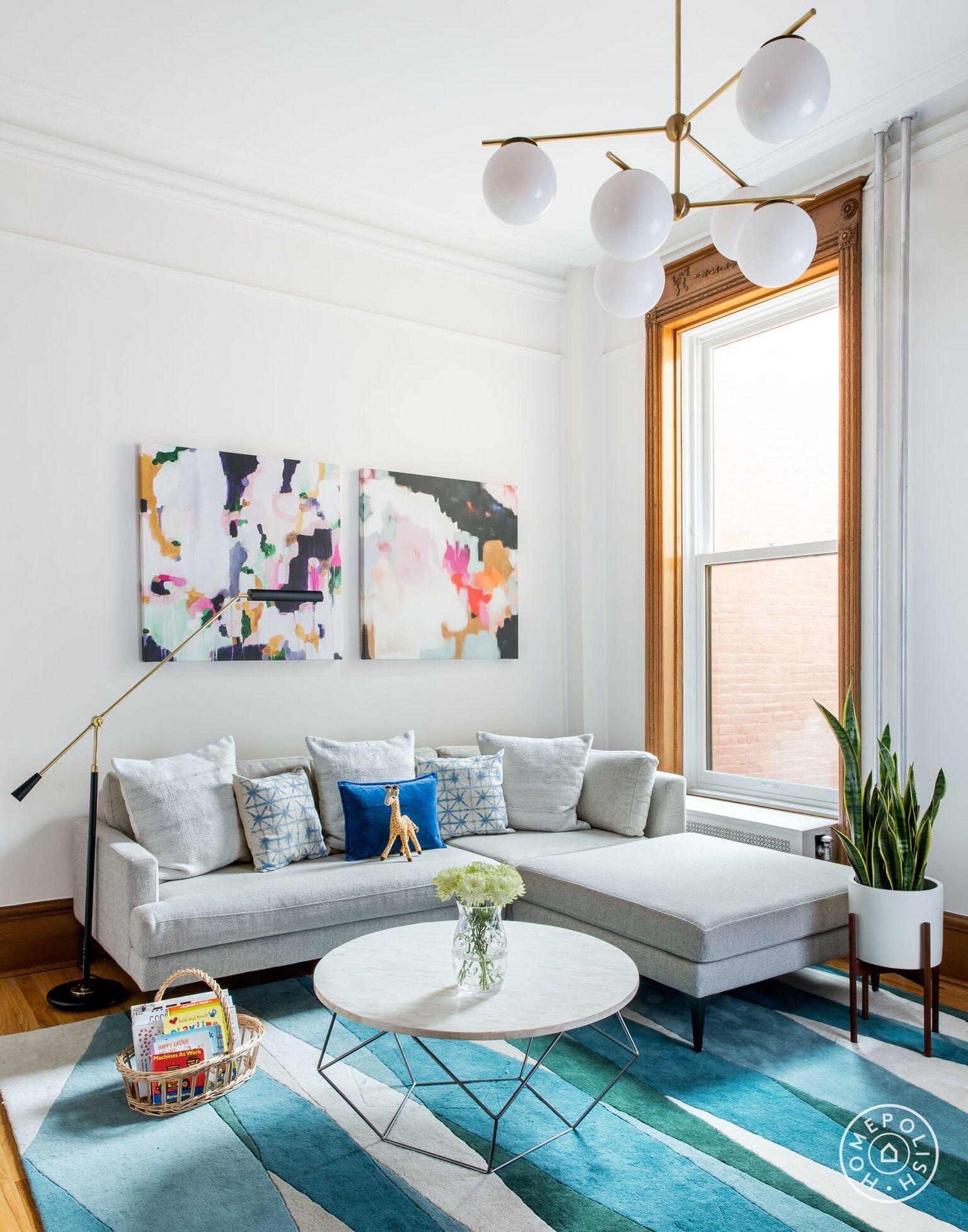 Old-World Antiques Meet New-Age Mod | Brooklyn brownstone ...