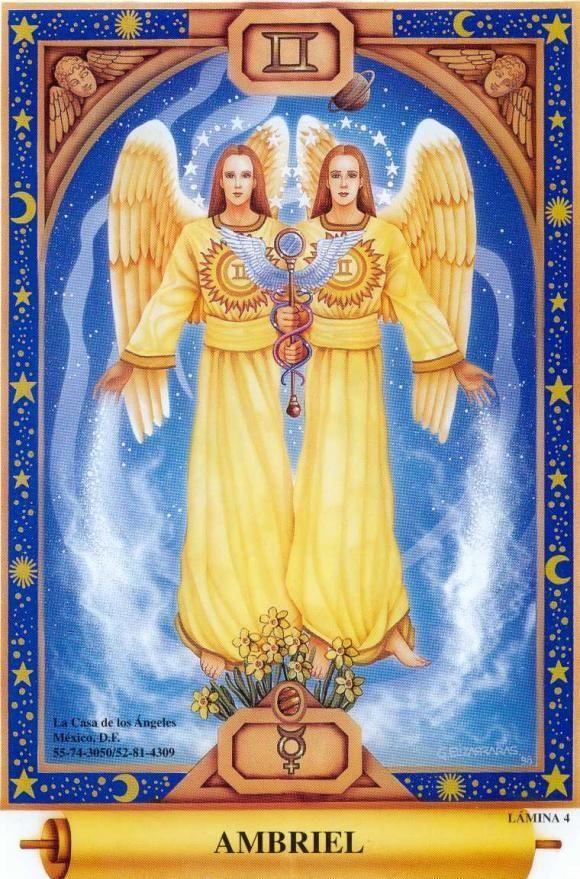AMBRIEL | Ángeles y demonios, Angeles en el cielo, Angel de la guarda