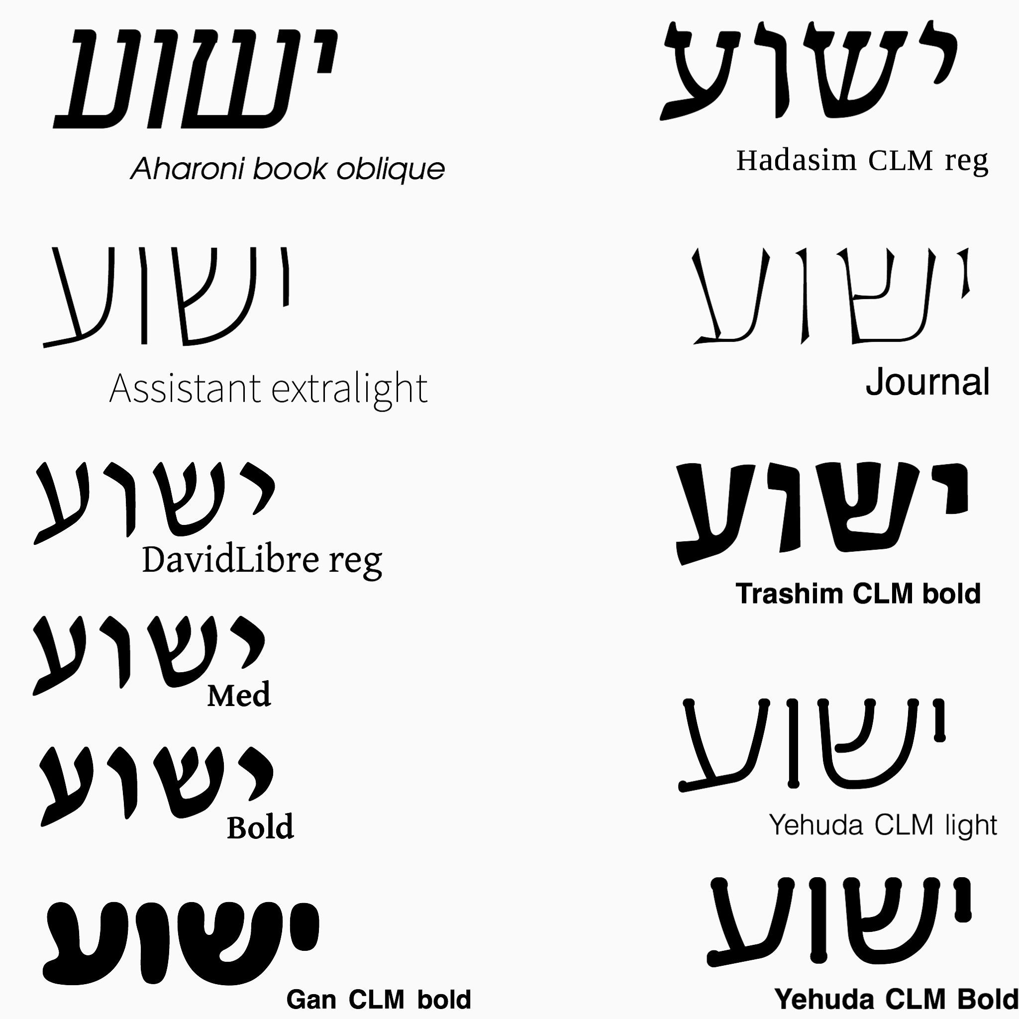 Free Hebrew fonts | Biblical Hebrew | Hebrew tattoo, Free