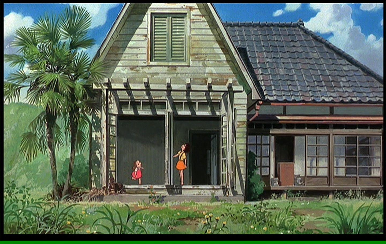 Satsuki And Mei S House Studio Ghibli Ghibli My Neighbor Totoro