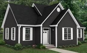 Image Result For Charcoal Gray Vinyl Siding House Exterior Blue Exterior Paint Colors For House Gray House Exterior