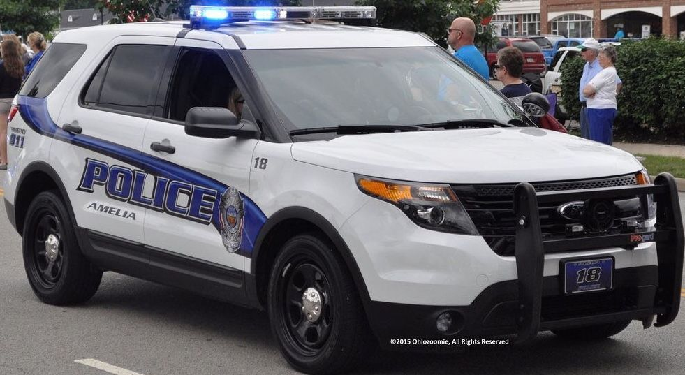 Amelia Oh Police 18 Ford Interceptor Utility State Police
