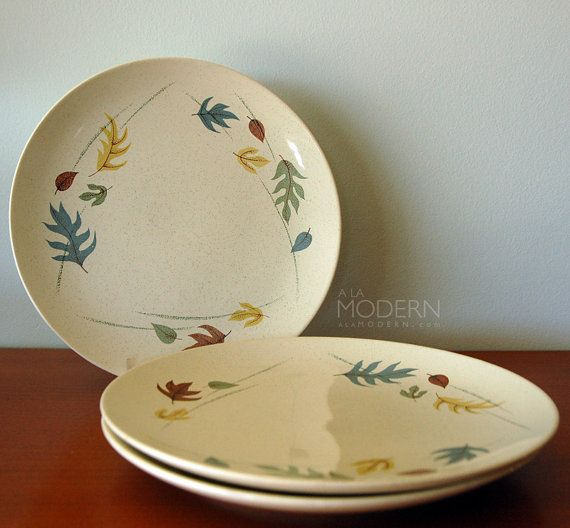 Franciscan Autumn Leaves Dinner Plates & Franciscan Autumn Leaves Dinner Plates | KITSCHY KITCHEN | Pinterest