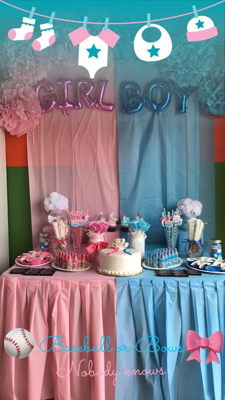 Gender reveal decorating ideas. DIY. Dollar tree. Dollar store. Inexpensive decorations & Gender reveal decorating ideas. DIY. Dollar tree. Dollar store ...