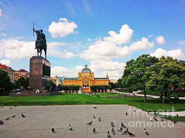 King Tomislav Square Zagreb Croatia By Jasna Dragun Zagreb Croatia Zagreb Croatia