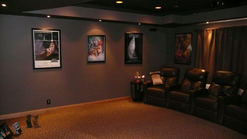 Best wall color for theater google search home theater Home theater colors