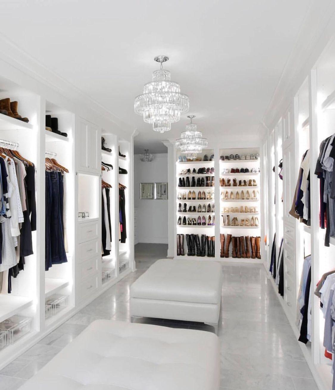 Closet Clothing Goals Change Home Luxury Begehbarer