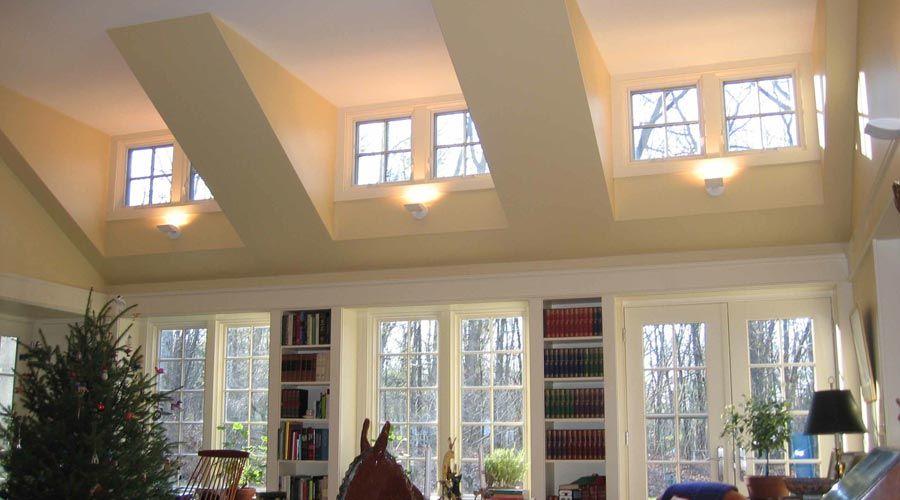 Dormer Window Living Room Ceiling In 2019 Dormer Windows