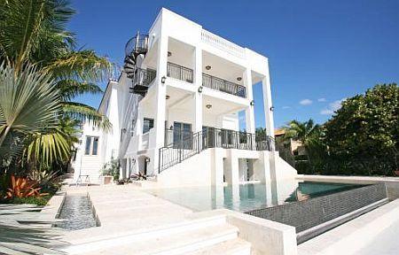 Chris Bosh's home in Miami Beach  Seven bedrooms    Miami