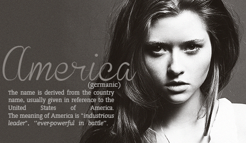 America~ Ever-powerful in battle