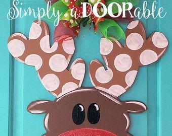 Snowman Wood Door Hanger by Simply aDOORable. by SimplyaDOORableNC ...