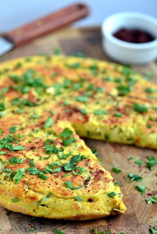 Vegan Persian Frittata - Coconut and Berries https://www.facebook.com/pages/Healthy-Vibrant-You/381747648567846