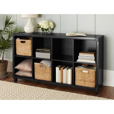 10 Spring Street Burlington 8 Compartment Organizer Multiple Colors Walmart Com Cube Storage Compartment Organizer Bookcase Organization
