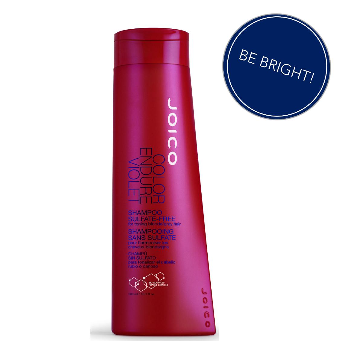 ¿Quieres lograr que tu pelo se vea radiante y vital luego de la tintura? En #bepicks podemos ayudarte. Te presentamos el Shampoo Color Endure Violet de la línea Joico. Libre de sulfato, especialmente diseñado para mantener los tonos rubios, el pelo blanqueado o gris. Añade fuerza y protege tu cabello del daño ambiental. ¿Qué esperas para probarlo? http://www.bepicks.com/joico-color-endure-violet-shampoo.html