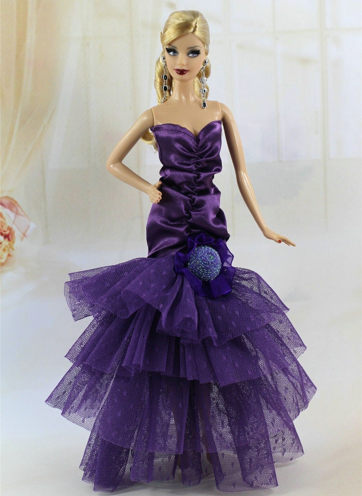 3* Random Diffirence Style Fashion Clothes/Outfit/Dress For Barbie ...
