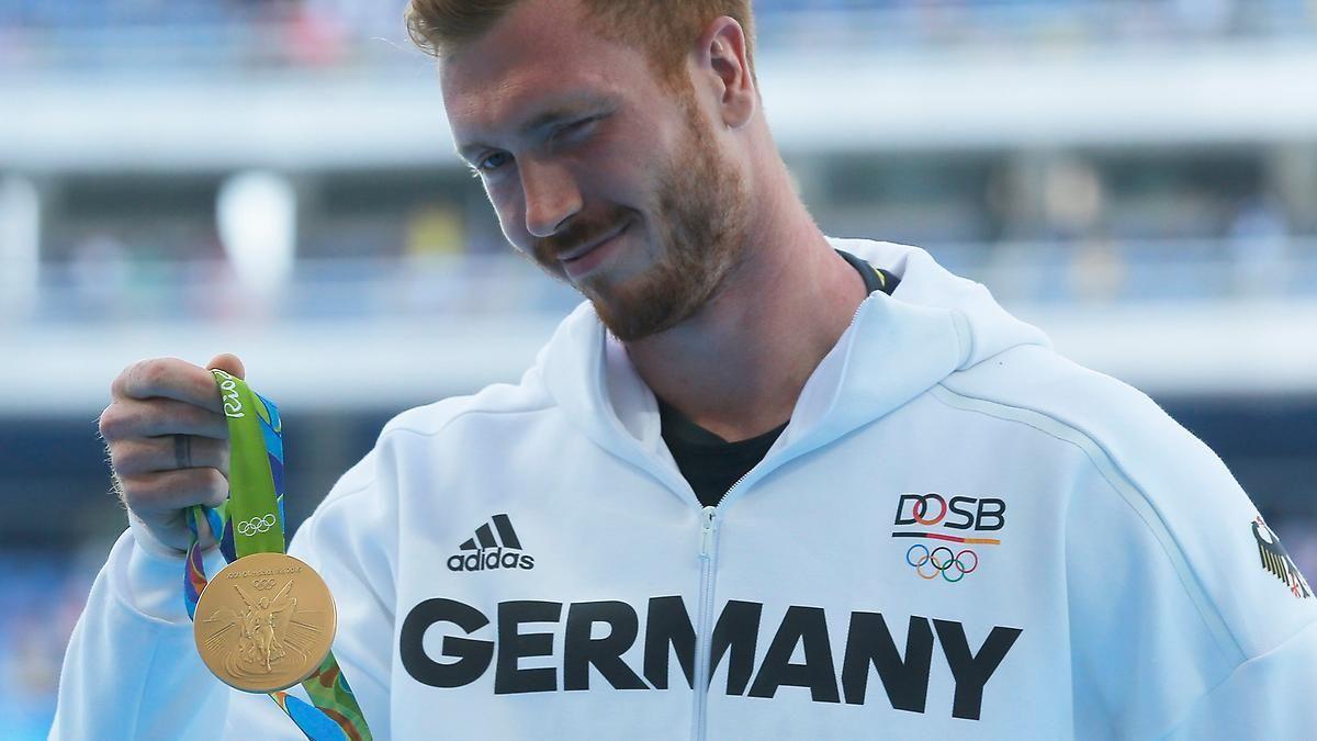 Überheblichkeit in Gold gehüllt: Christoph Harting macht den Robert