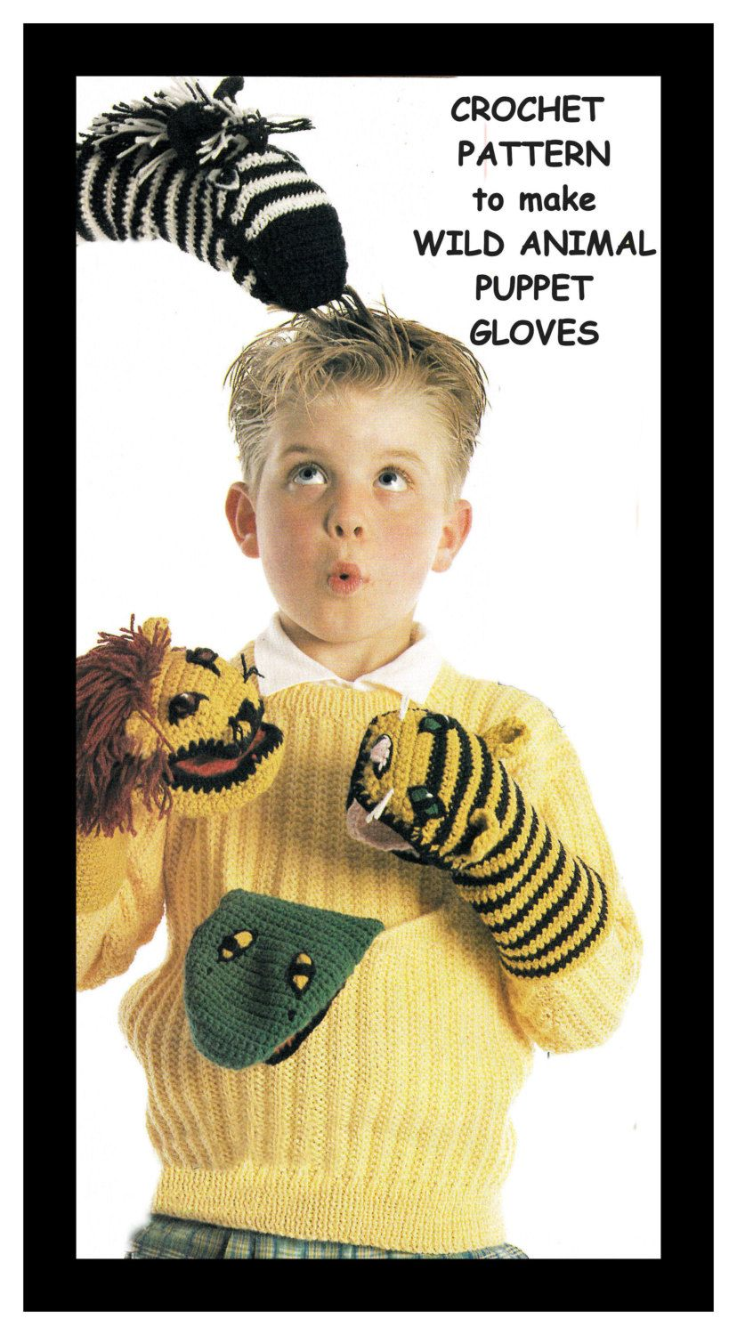 King Cole Moments Pricewise DK Knitting Pattern Wild Animals 9027