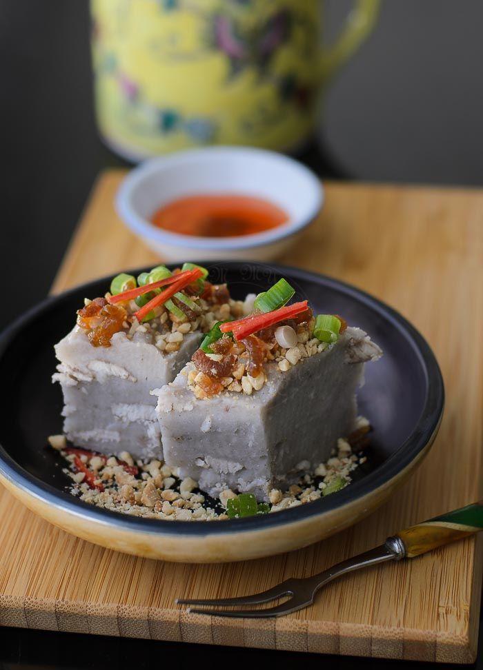 Savoury yam cake or kueh recipe gluten free cake and asian recipes forumfinder Images