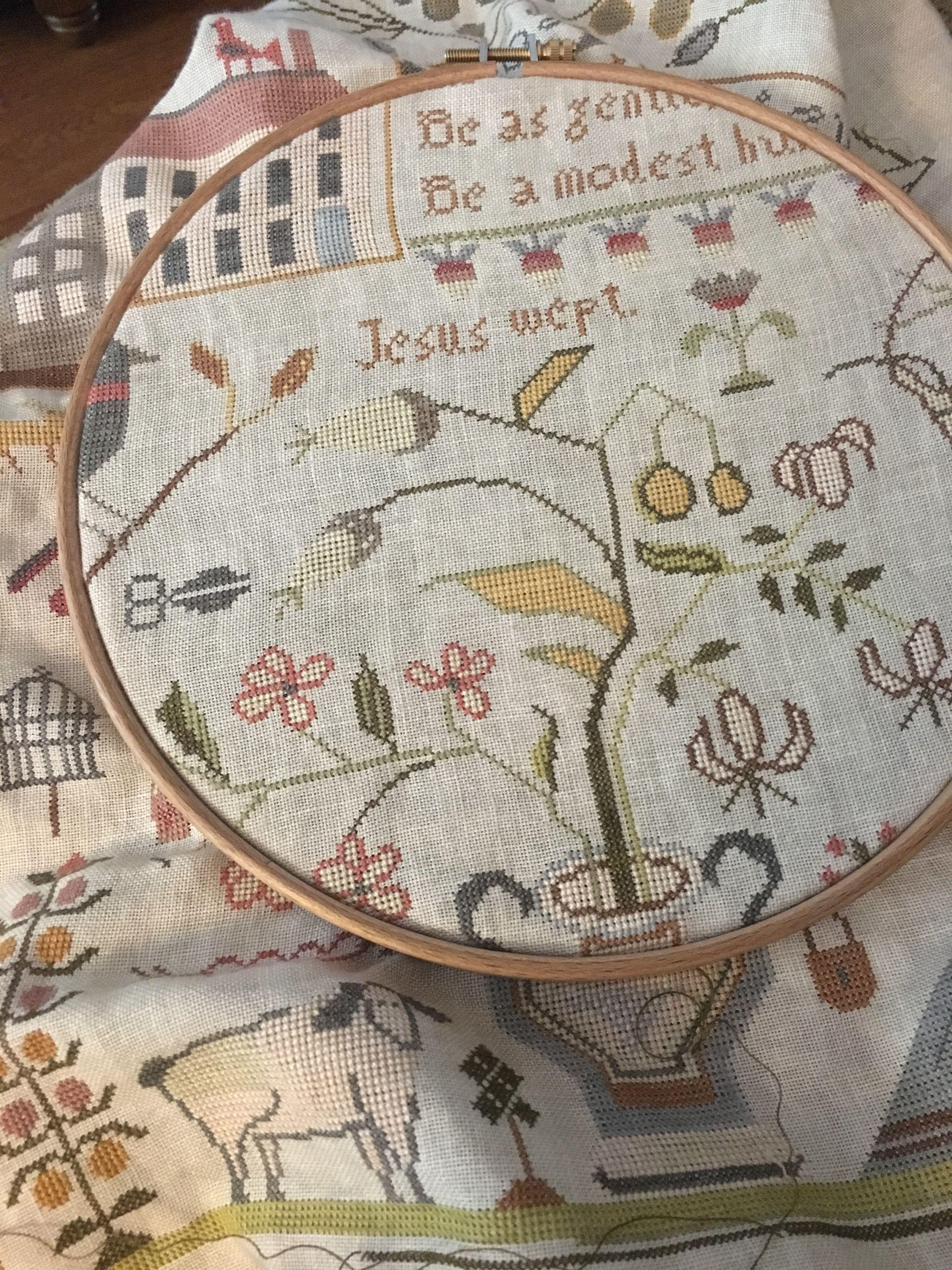 The Sweet Temper Sampler Shakespeare/'s Peddler Cross Stitch Pattern