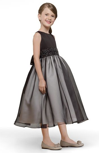 fab6c845e6 Us Angels Beaded Satin Sleeveless Dress (Little Girls   Big Girls)  available at Nordstrom