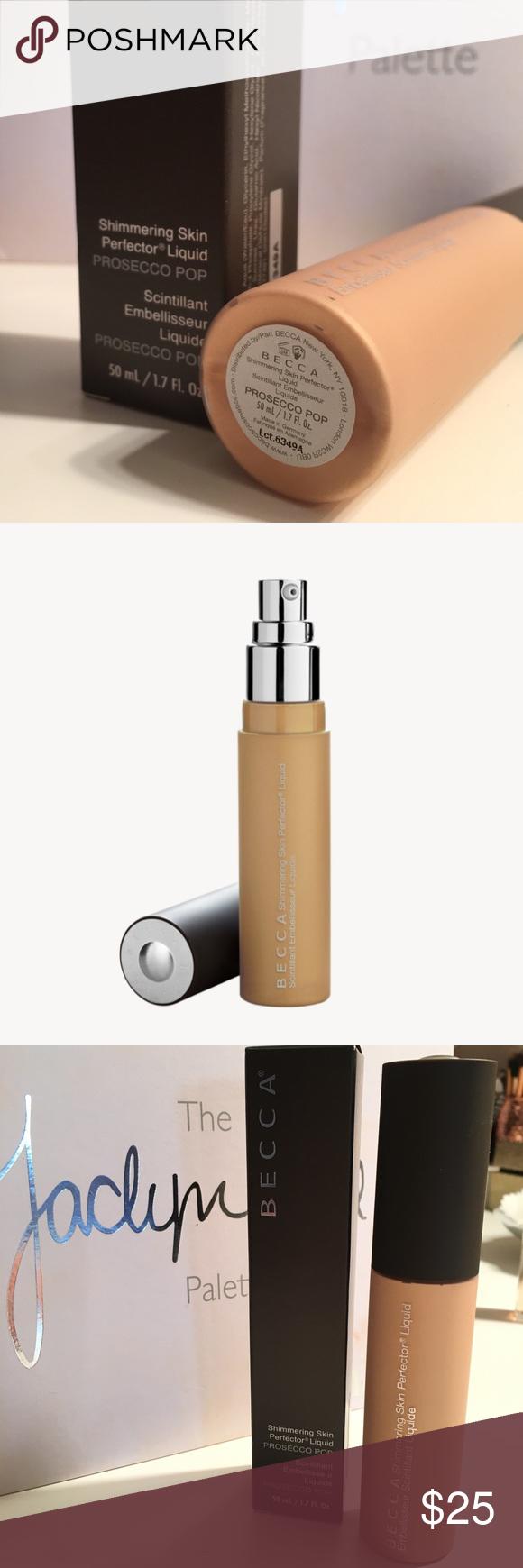 Becca Liquid Skin Perfector in Prosecco Pop | Becca makeup ...