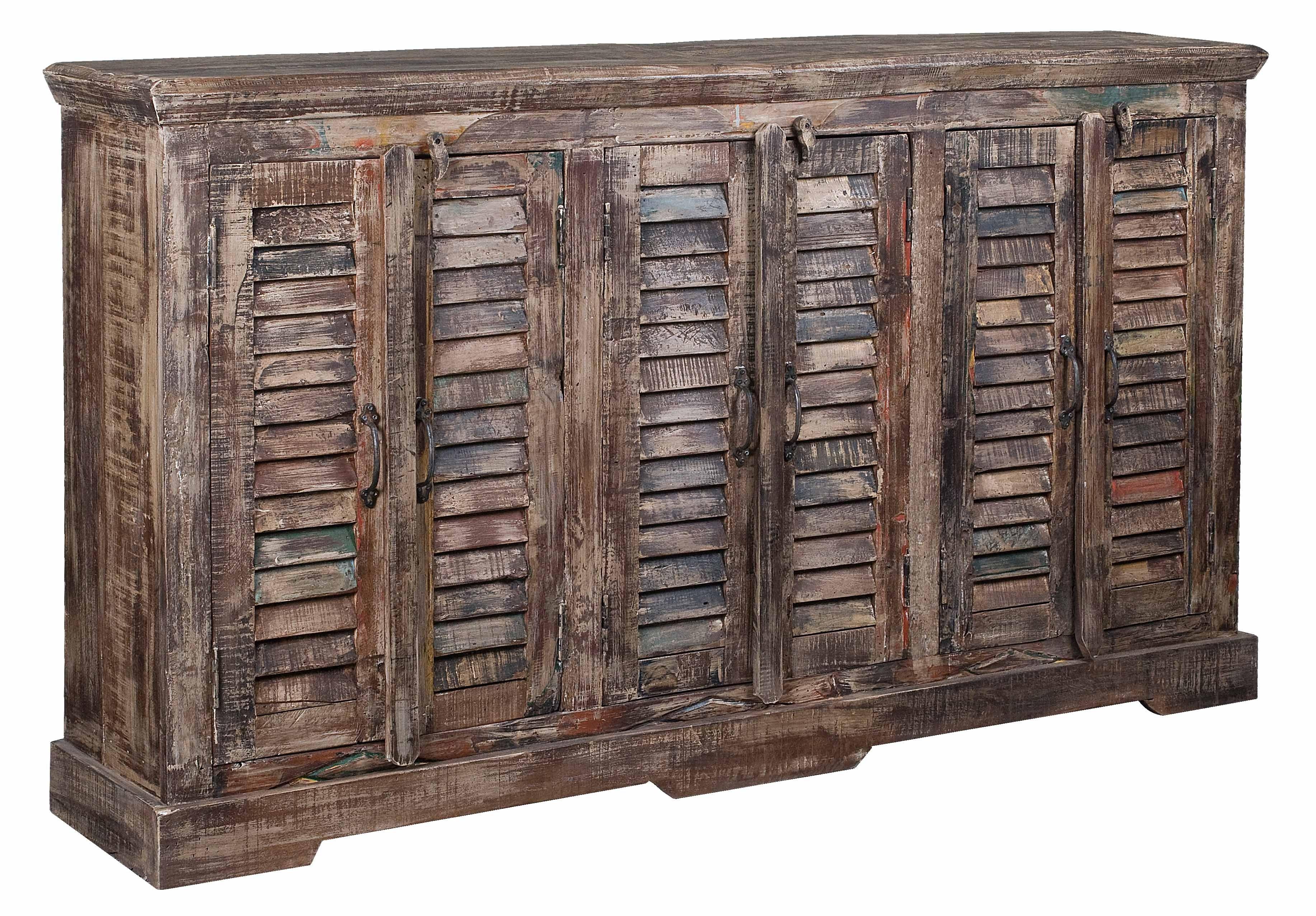 Coast To Coast Furniture - Reclaimed Louvre Sideboard 15 Door