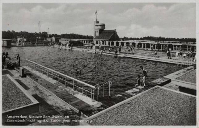 Amsterdam zuid amsterdam gemeentelijk zwembad en