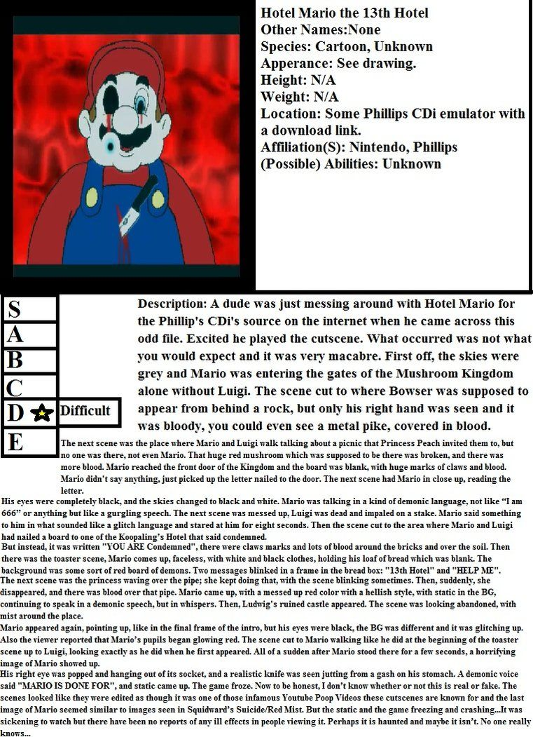 Hotel Mario The 13th Hotel By Thedrapocalypse Mario Drawing S