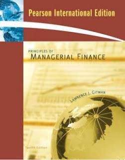 download solution manual of principles of managerial finance 12th