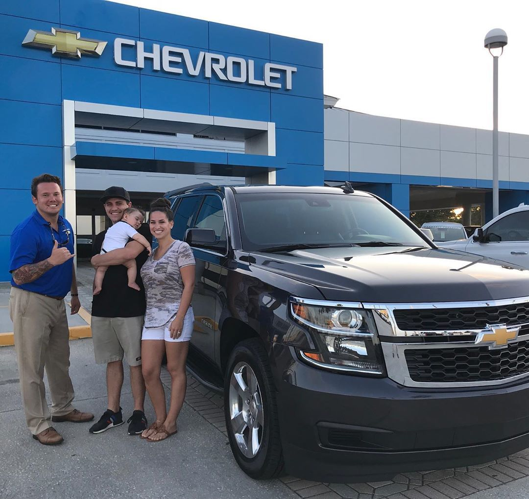 Sold My New Friends Their 2018 Chevrolet Tahoe Lt With Only 4 000 Miles And A Lifetime Powertrain Warranty Stoke Chevrolet Tahoe Chevy Chevrolet Tahoe Lt