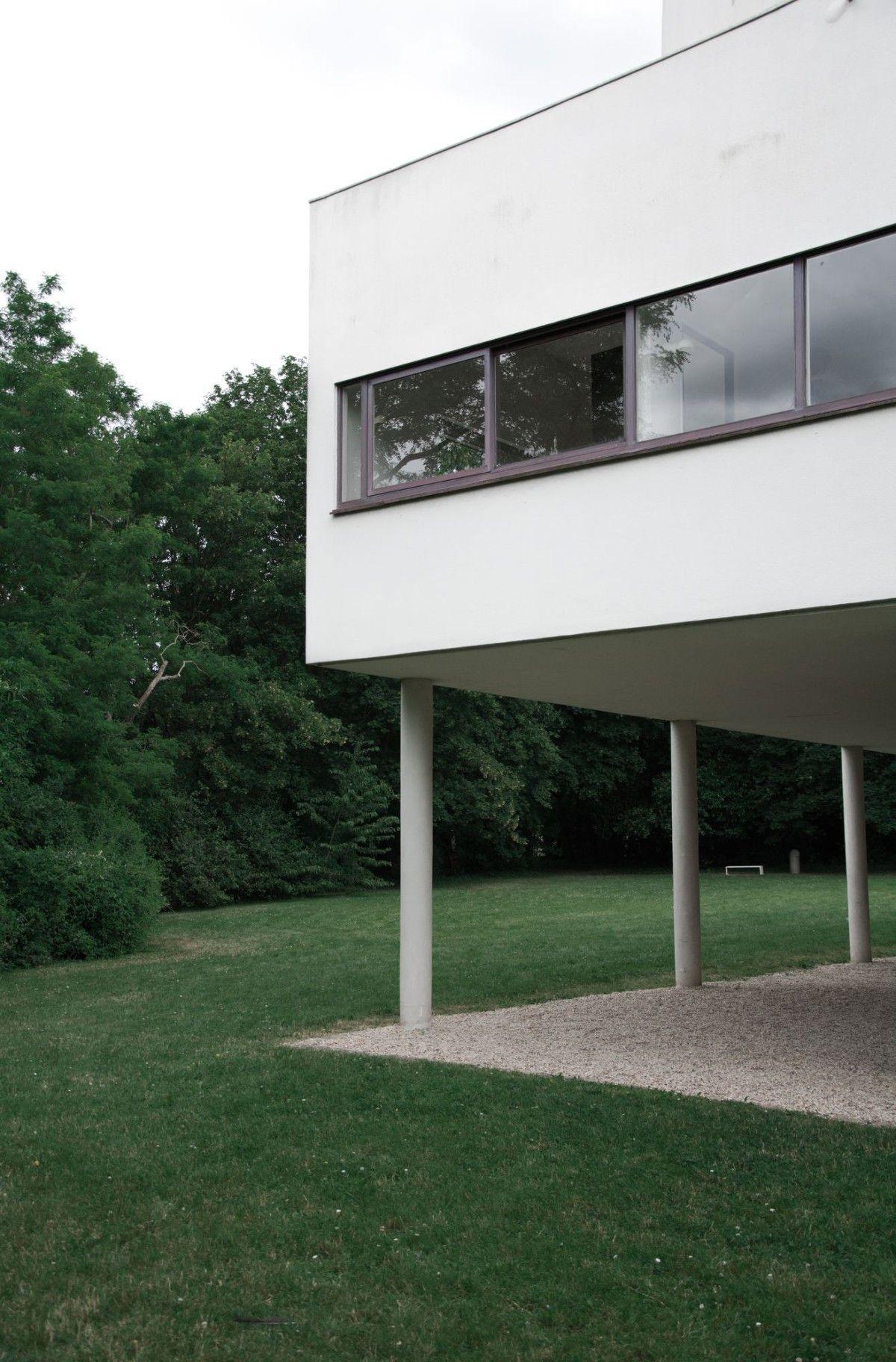 Le Corbusier . Villa Savoye . Poissy (11)