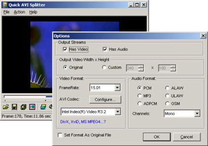 Quick AVI Splitter is an easy-to-use and powerful tool to split ...