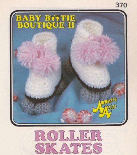 Roller Skates Annies Attic Baby Bootie Boutique Ii Crochet Pattern