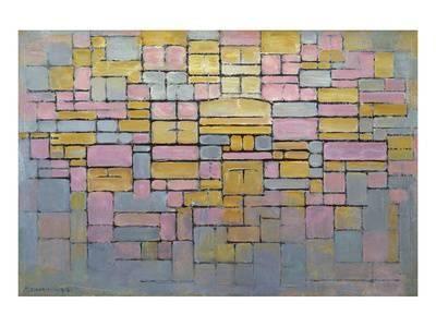 2 Art Print By Piet Mondrian At Artcouk