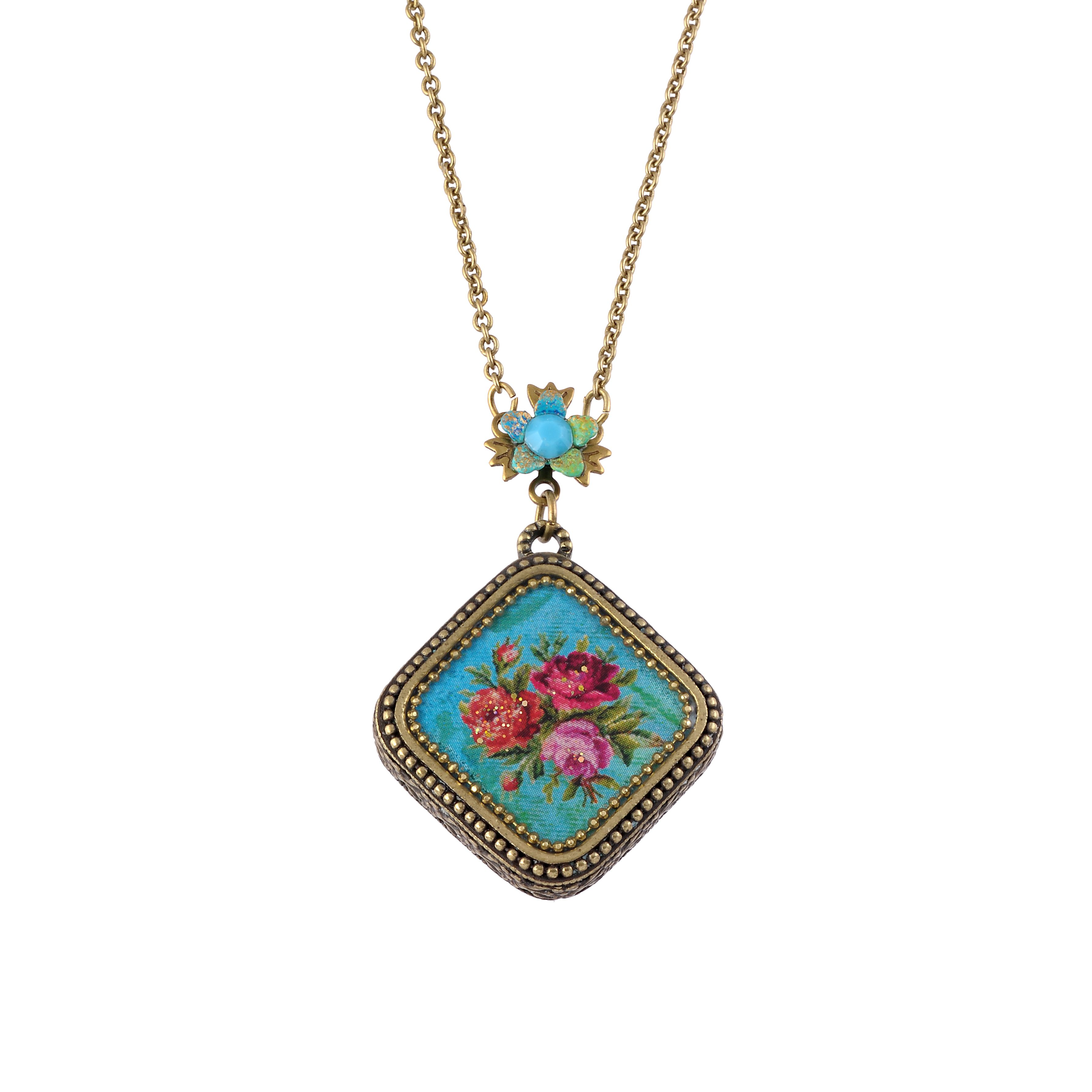 Michal Negrin Turquoise necklace