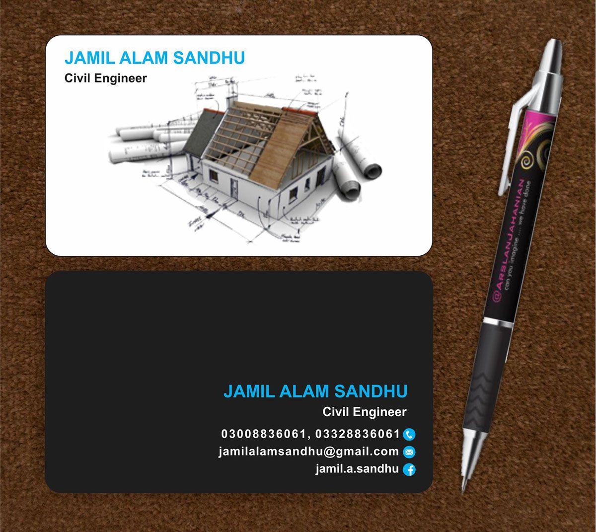 Careers Business card black, Black business card