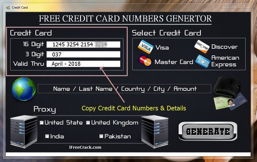 copy free credit card numbers that work - Free Visa Credit Card Numbers That Work