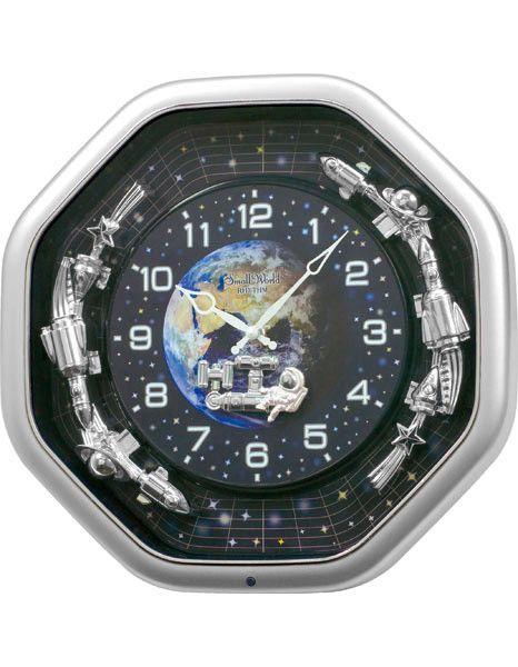 Rhythm Clocks Galaxy Space Themed Magic Motion Musical Clock 30 Songs Clock Rhythm Clocks Bohemian Wall Decor
