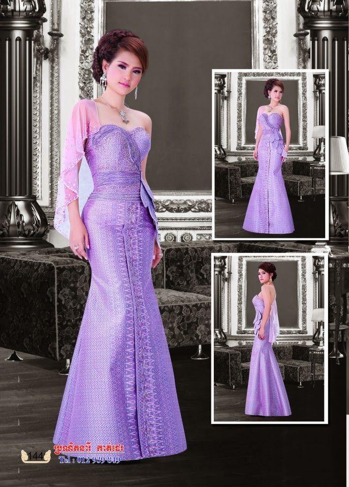 http://mister-b-blog.blogspot.com/2013/10/khmer-dress.html | Bazin ...