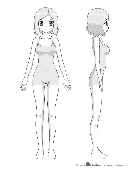 Anime girl full how to drawing how to draw pinterest anime anime girl full how to drawing ccuart Images