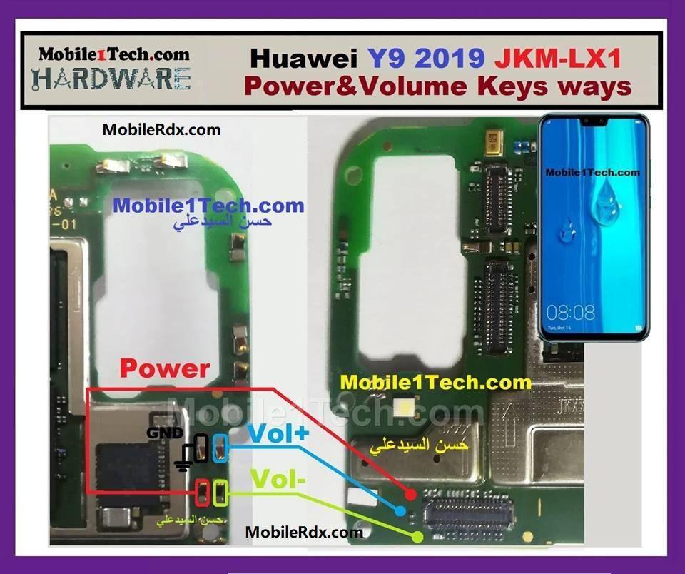Huawei Y9 2019 Power Button Ways Volume Keys Jumper Solution In 2020 Mobile Tricks Phone Solutions Huawei