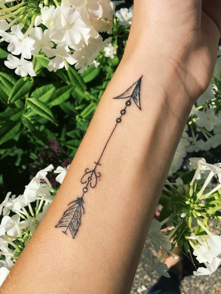 Pin by hannah hicks on tattoos tattoos arrow tattoos