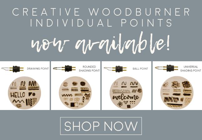 Walnut Hollow CREATIVE WOODBURNER  Wire Tips 41992 9922 NEW!
