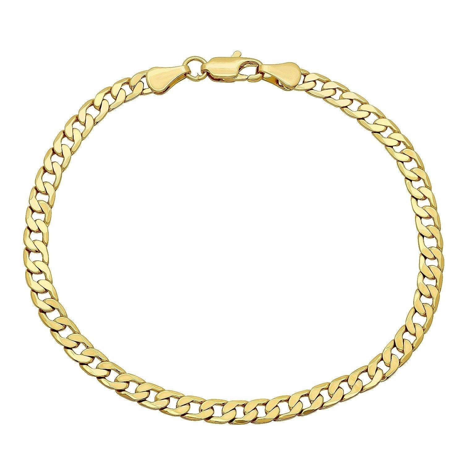 chains necklace link flat s jollys wide chain gold yellow product