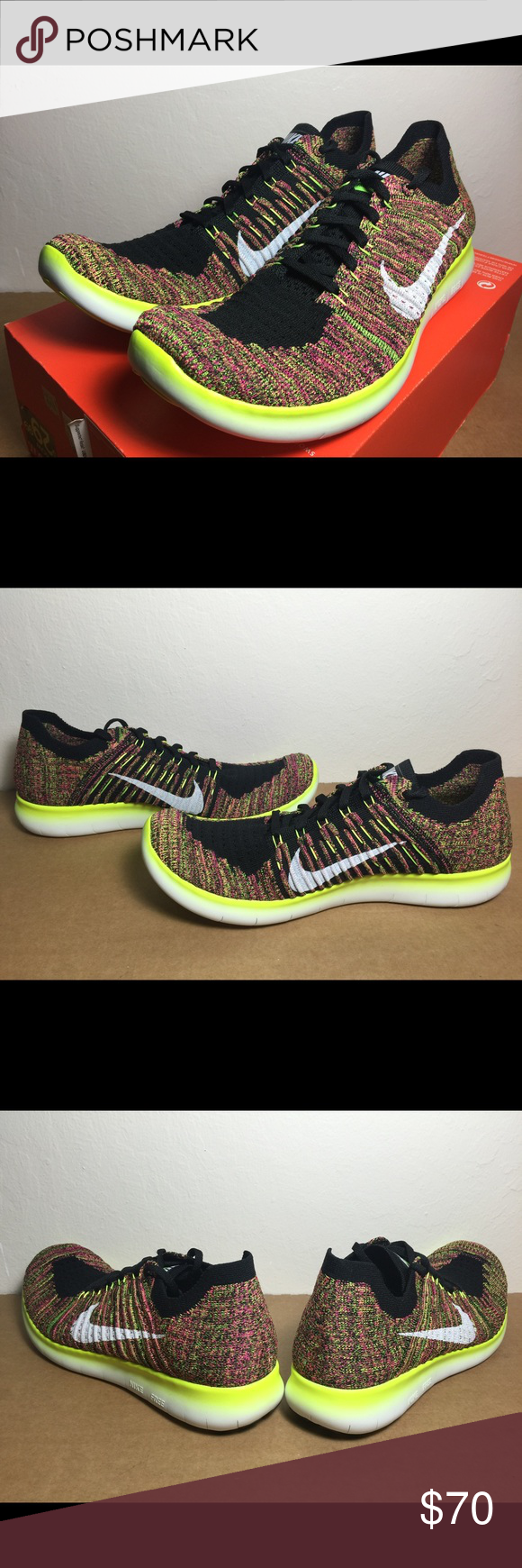 63279aa5808d Nike Free RN Run Flyknit OC Olympic SZ US WMNS 8.5 Brand new with original  box (no lid)