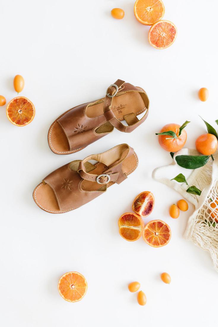 Estrella {Women's Leather Sandals}