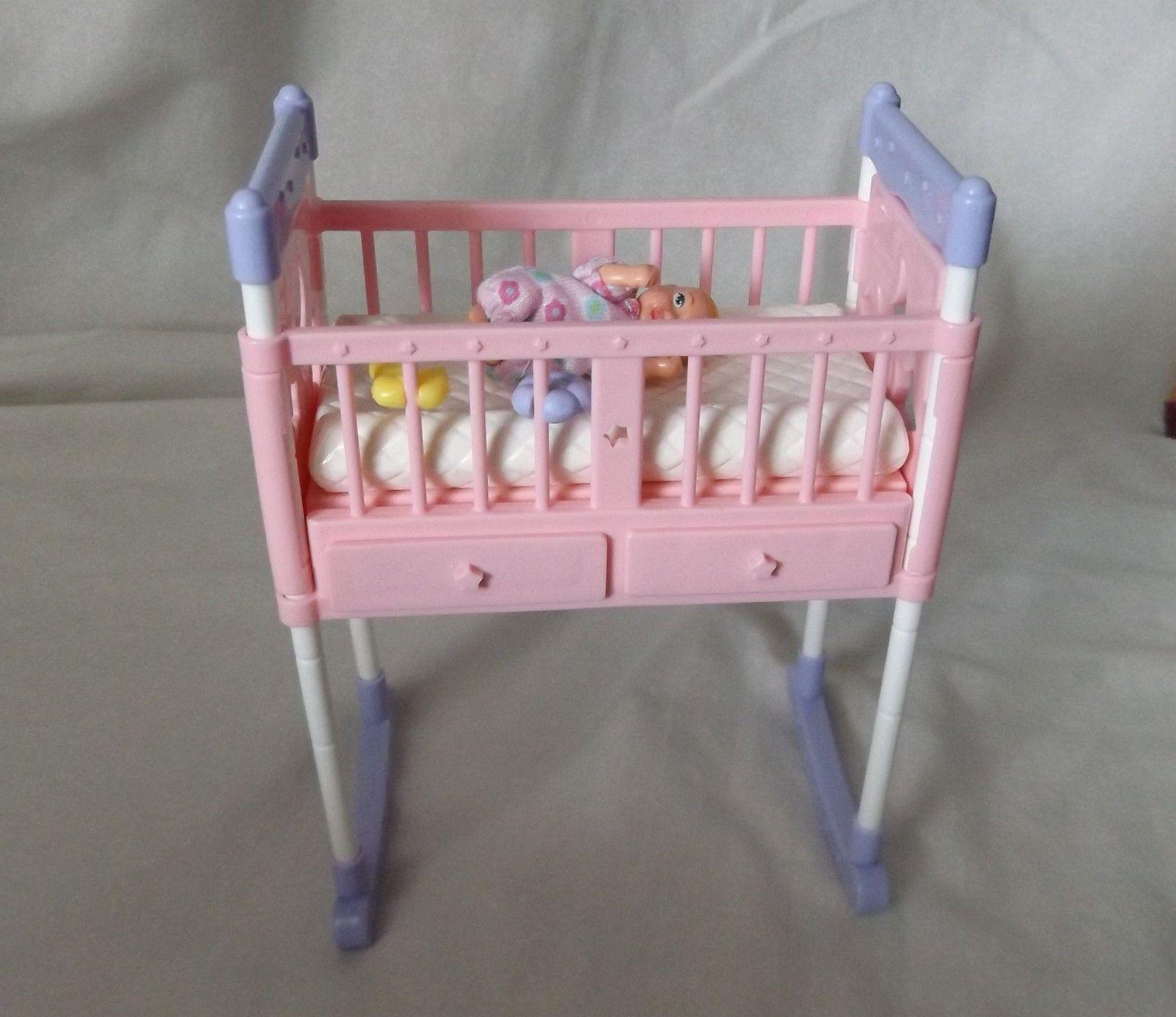 Mattel Happy Family Midge Alan Ryan Baby Doll Set Stroller
