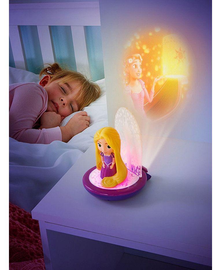 Disney Princess Rapunzel 3 In 1 Magic Goglow Night Light