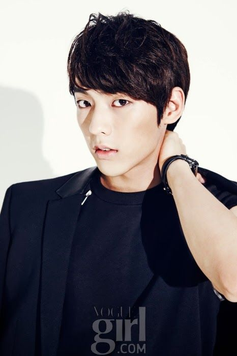 Btob's Minhyuk // Vogue Girl // August 2013