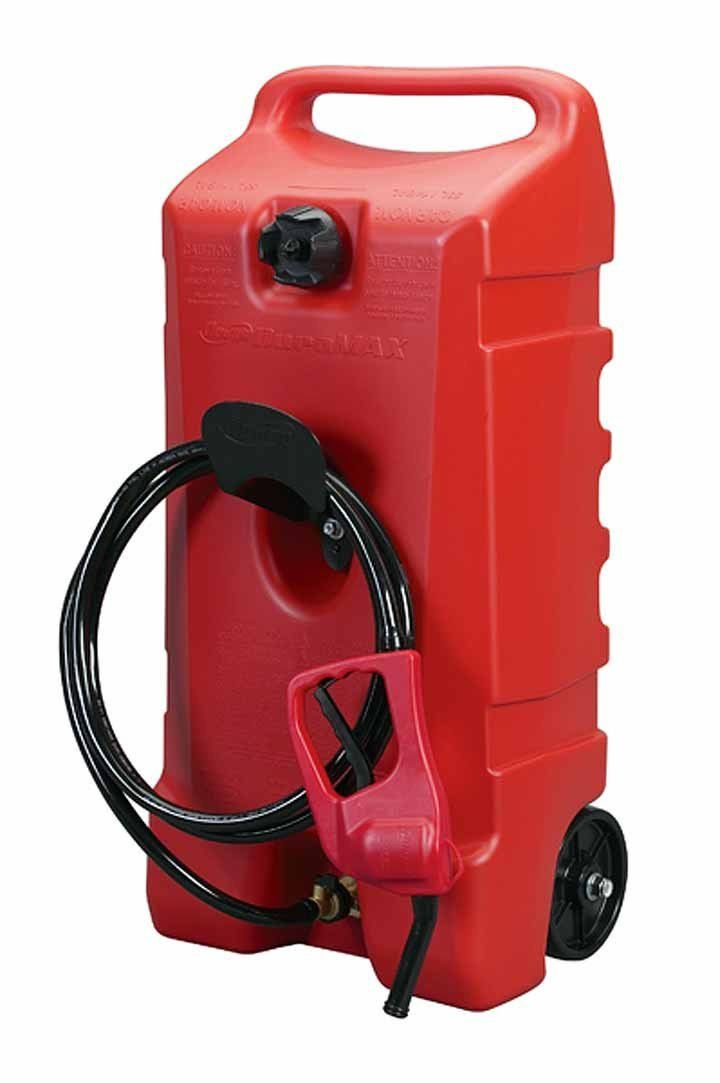 Portable Gas Can Transfer Pump Fuel Storage Rolling Siphon Tank Boating Caddy With Images Gas Cans Fuel Storage Gas